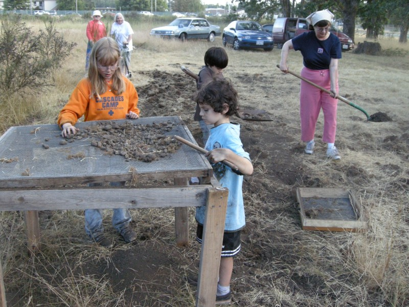 Byrd School Excavation
