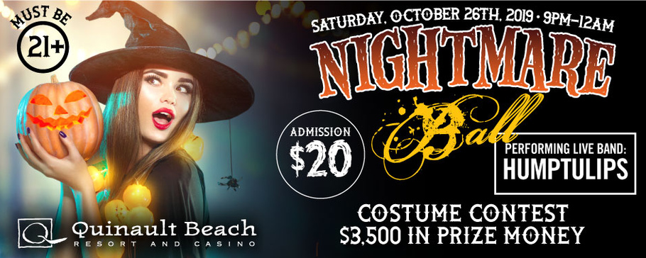 Nightmare Ball at Quinault Beach Resort and Casino