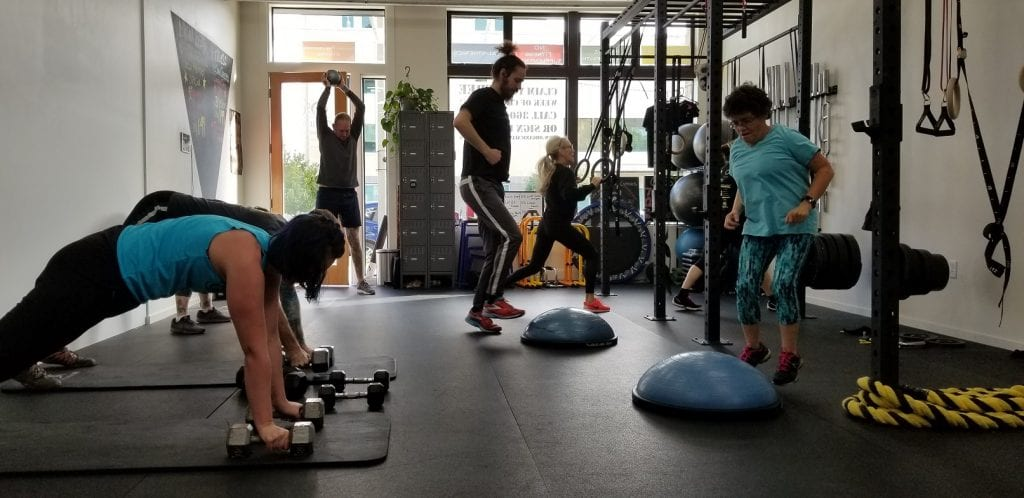 OG Muscle Group Fitness Class