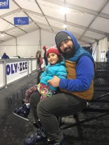 Oly on Ice Father Daughter Date