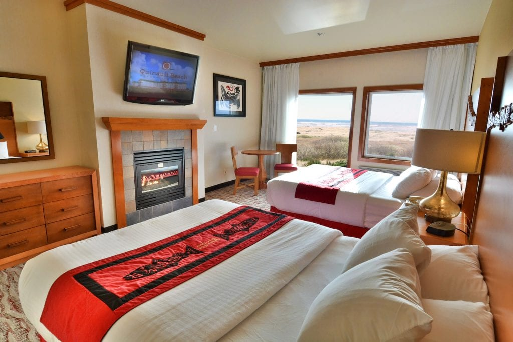 Ocean View Room at Quinault Beach Resort and Casino