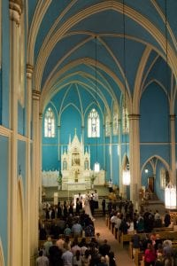 holy rosary interior