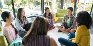 Teen Group Counseling Session