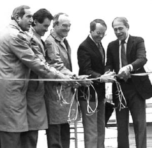Port Observation Tower riboon cutting dedication
