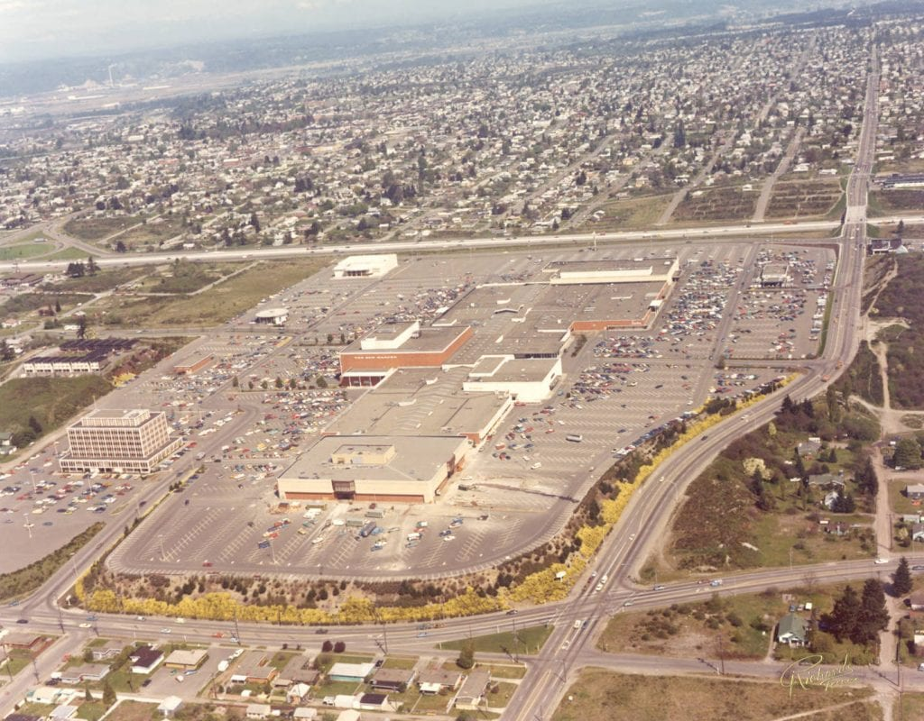 Tacoma Mall Construction