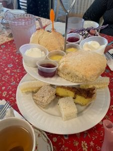 Scones at Steeped in Comfort