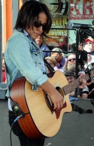 Vicci Martinez at Art on the Ave