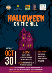 Halloween on the Hill @ Begins at Tacoma Community House