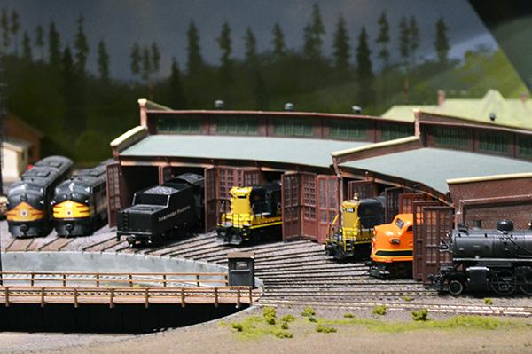 washington history museum model train