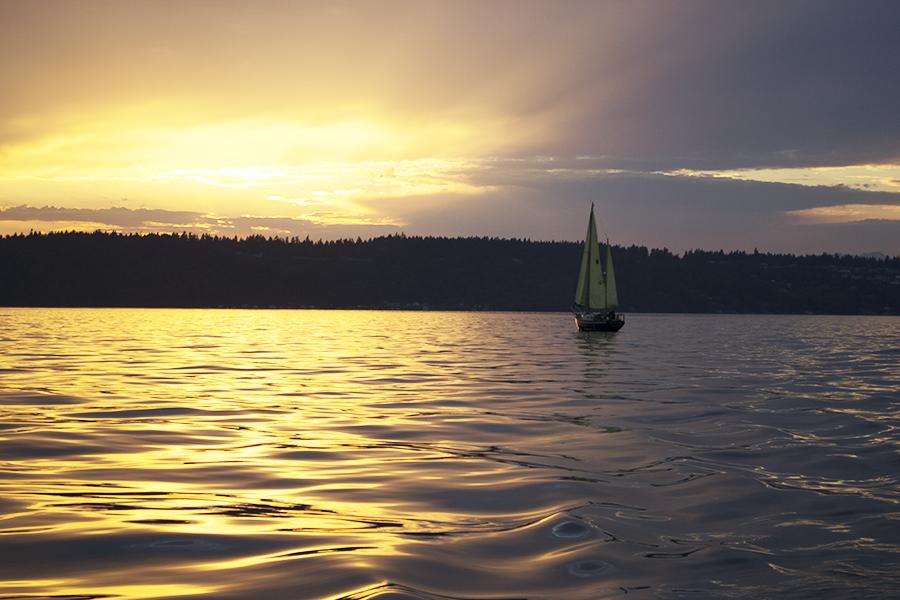 sailing south puget sound