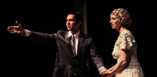 """Veronica Tuttle as Daisy in the Tacoma Little Theatre's production of """"The Great Gatsby"""""""