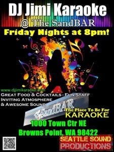 Karaoke  @ The SandBAR | Tacoma | Washington | United States