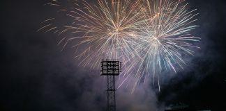 Cheney Stadium fireworks