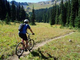 Crystal Mountain bike riding