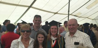Christy Upton Graduation