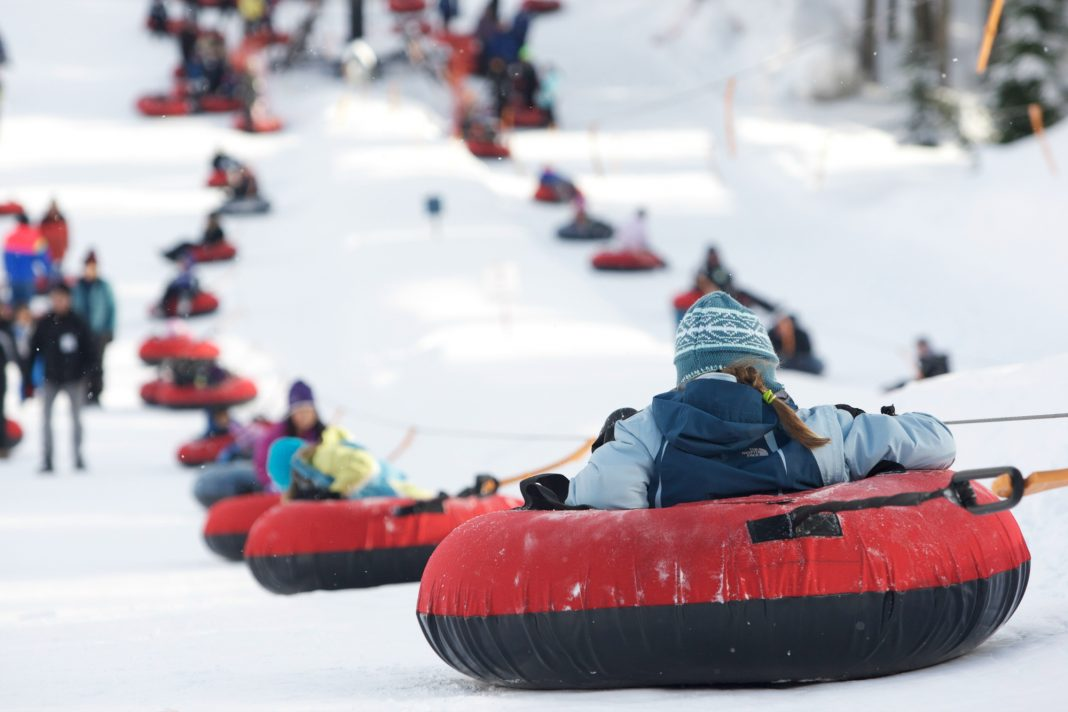 Tubing at Snoqualmie
