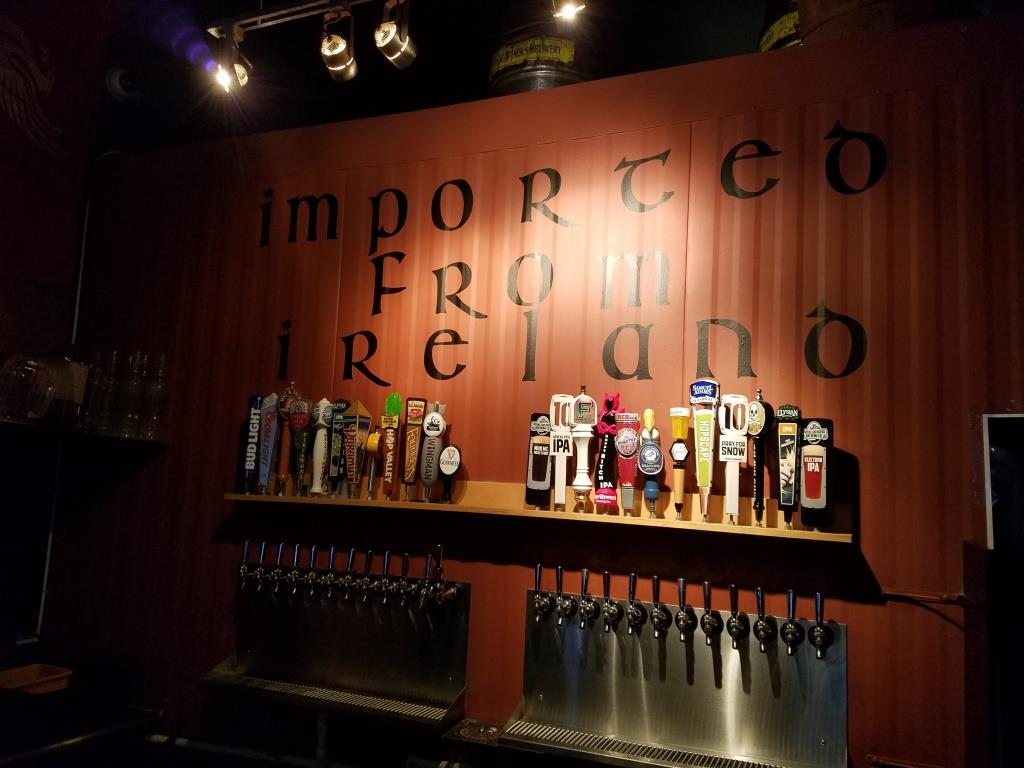 Flanagan's Beers on Tap