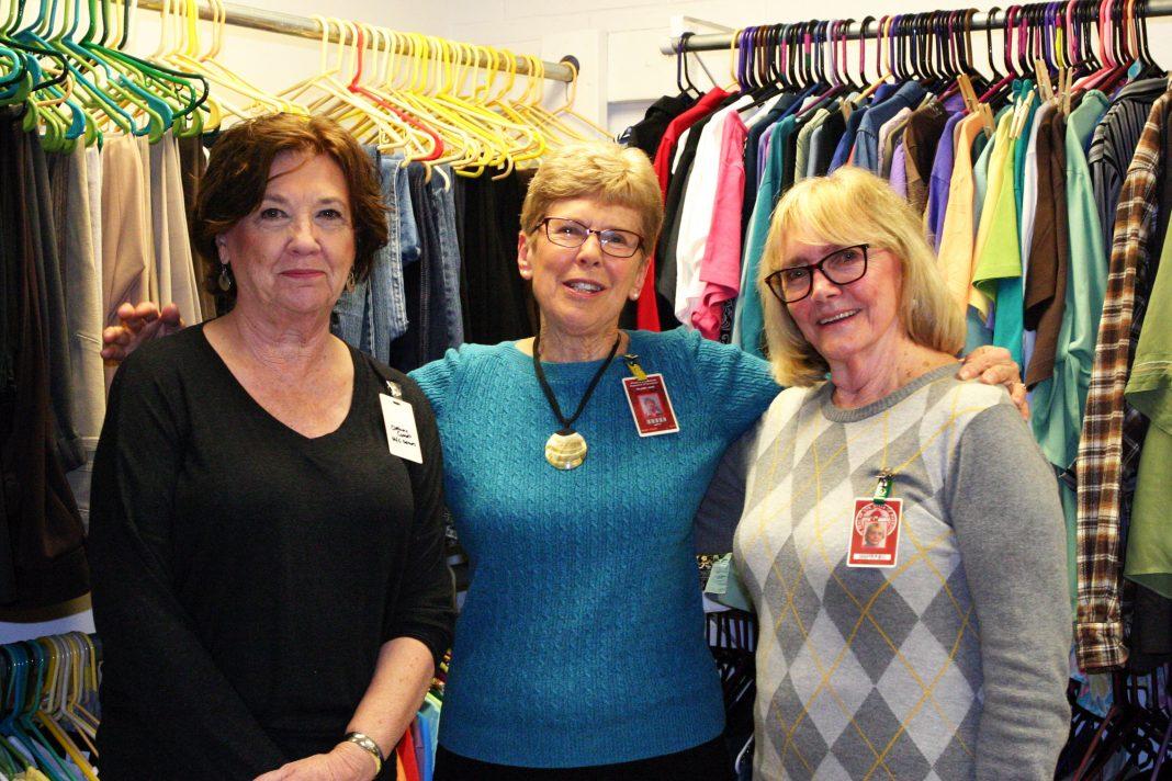 Clothing Closet Volunteers