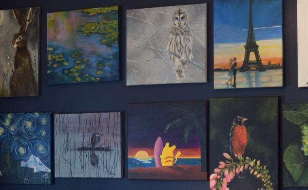 Voila art studio Shelby Beck