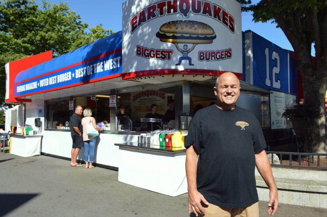 earthquakes burger
