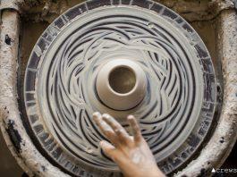 Spun Pottery