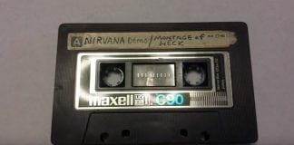 Nirvana demo tape