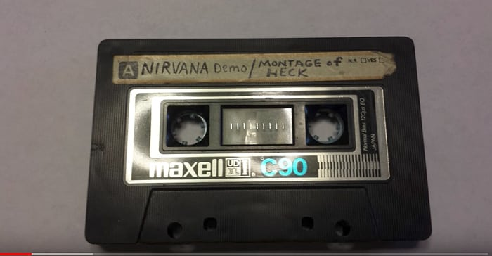Nirvana demo tape