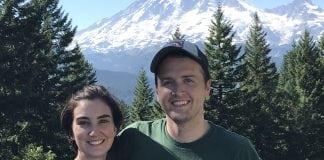 Dr. Borders and Dr. Jones at Mt Rainier