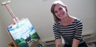 Kelly Falk Kelly in Studio
