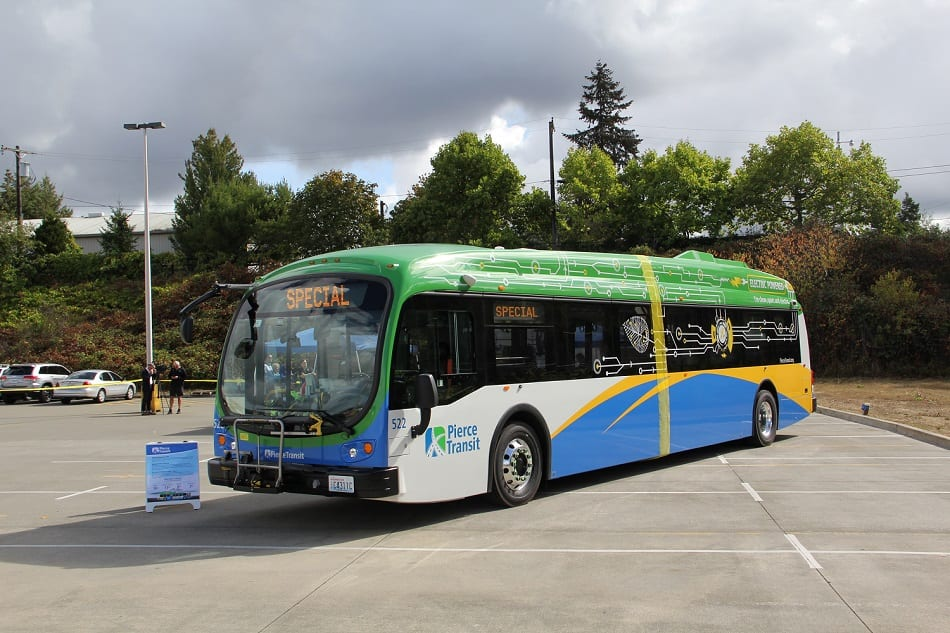 Pierce Transit Electric Buses
