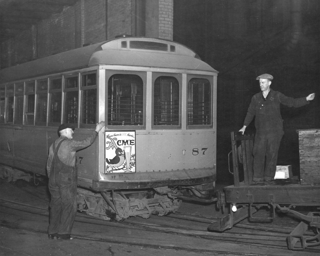 Hilltop streetcar