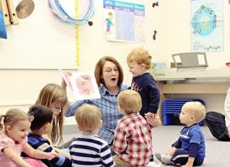 Kindermusik story time