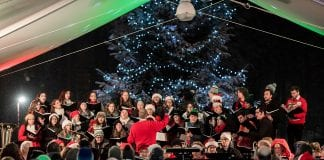 Saint Martin's holiday concert-chorale performance