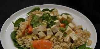 Happy Belly curry with tofu