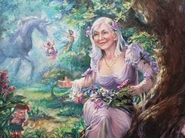 Fairy Store Painting