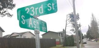 Ash Street Shooting Tacoma
