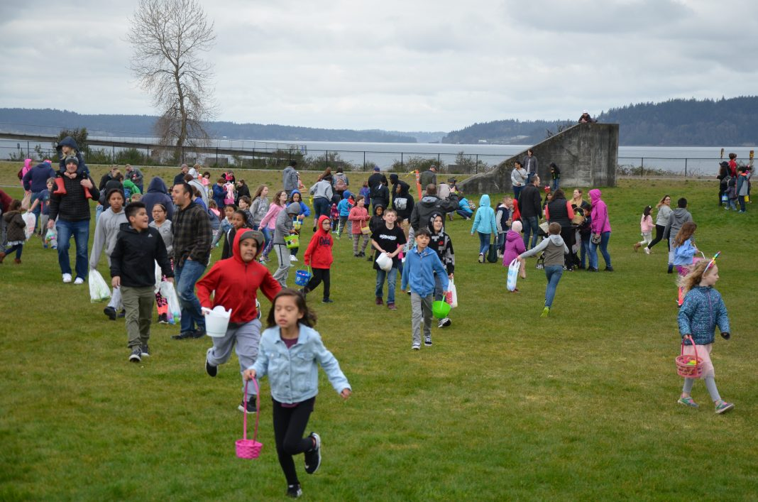 Easter egg hunt Chambers Bay