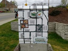 Tacoma Traffic Box Wrap Project