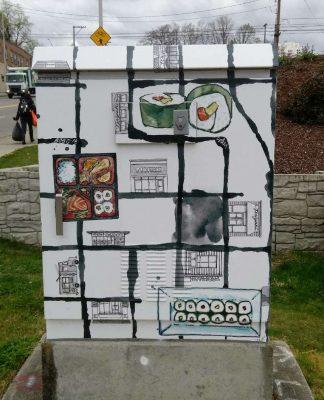 Tacoma Traffic Box Wrap Project