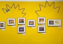 Bart at TAM exhibit