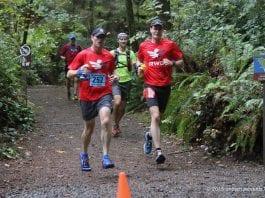 Running trail runs in Tacoma