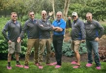 Boggs Inspection Services Breast Cancer Awareness Guys in Pink