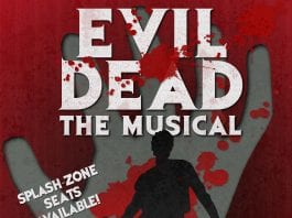 TLT Evil Dead The Musical Poster