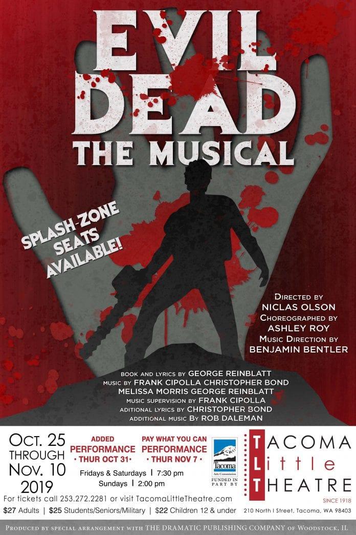 TLT Evil Dead The Musical Poster