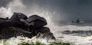 Storm watching on the WA Coast