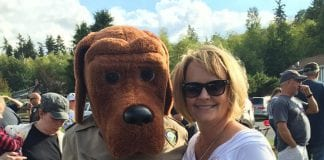 Julie Door at National Night Out