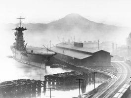 USS Lexington in Tacoma