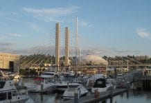 Tacoma Dome and Marina