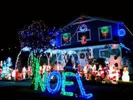 Pierce County holiday lights