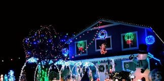 Pierce County holiday lights